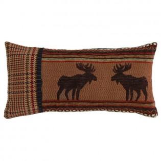 Bayfield Moose Oblong Pillow