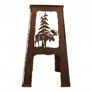 Moose Metal Bar Stool