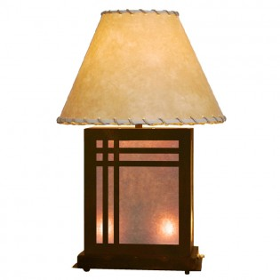 Scenic Mission Table Lamp