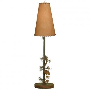 Pine Cone Candlestick Lamp