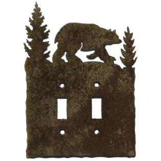 Bear Light Switch Plates