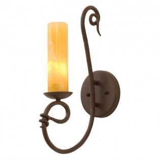 Vine Calcite Single Sconce