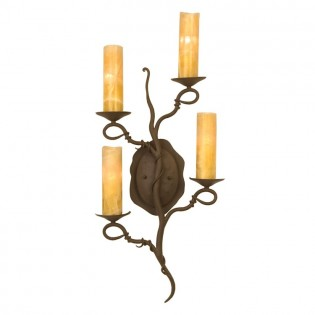 Vine 4 Light Sconce