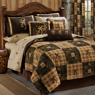 Browning Country Comforter Set-Queen