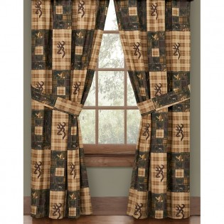 Browning Country Rod Pocket Drapes