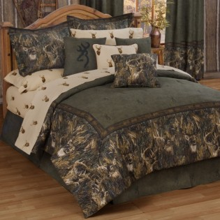 Browning Whitetails Bedding Set from The Cabin Place!