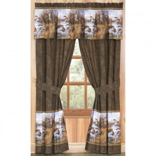 Duck Approach Drapes & Valance