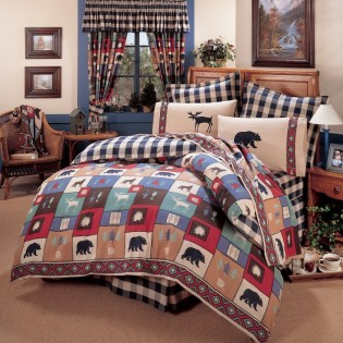 The Woods Comforter Set from The Cabin Place!