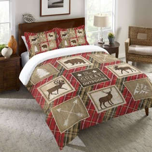 Country Lodge Duvet Cover