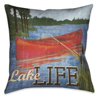 Lake Life Decorative Pillow
