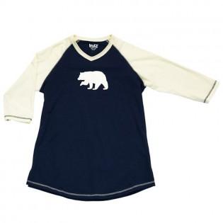 Bear Fair Isle Long Tee-Medium