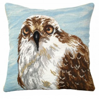 Osprey Needlepoint Pillow