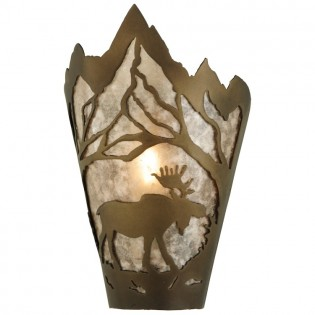Moose Mountain Sconce-Right