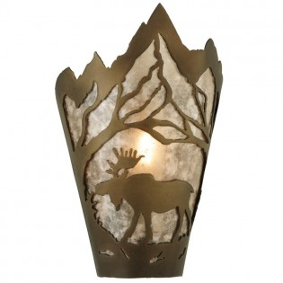 Moose Mountain Sconce-Left