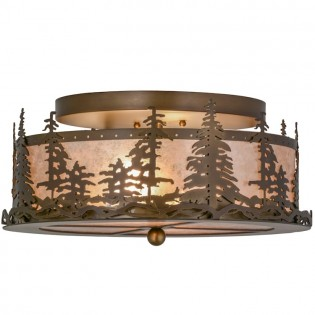 Pine Tree Ceiling Light