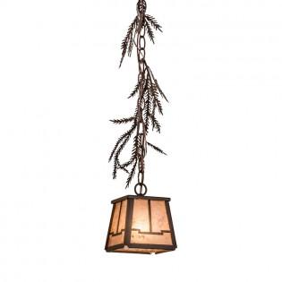 Pine Branch Valley View Mini Pendant Light