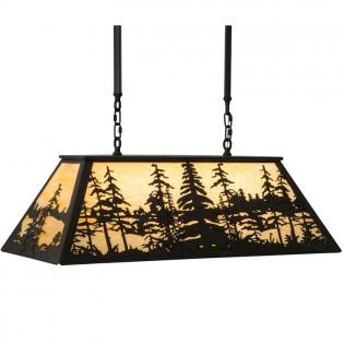 Midnight Forest Island Light