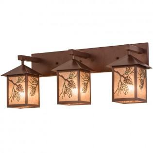 Pinecone 3 Light Vanity Light