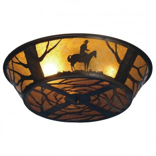 Click to buy Lone Cowboy Ceiling Light
