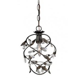 Crystal Trellis Petite Pendant Light