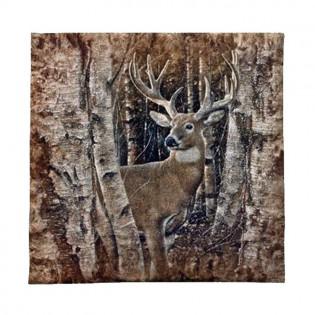 Birchwood Buck Wall Hanging