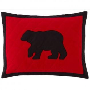 Buffalo Bear King Sham