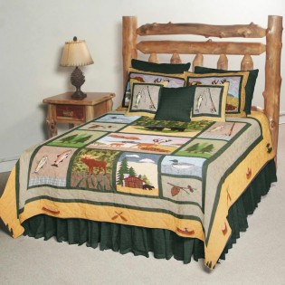 Lodge Fever Quilt from The Cabin Place!