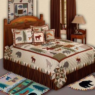 Mountain Whispers Quilt from The Cabin Place!