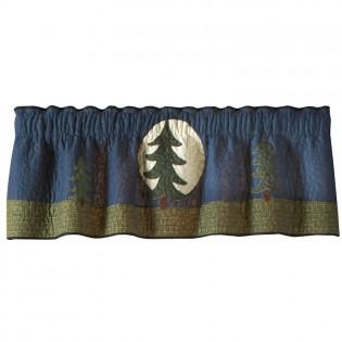 Bear Dance Pine Tree Valance/Runner