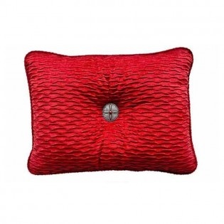 Red Eureka Accent Pillow