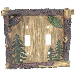 Lodge Pine Tree Double