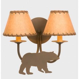 Bear Double Wall Lamp