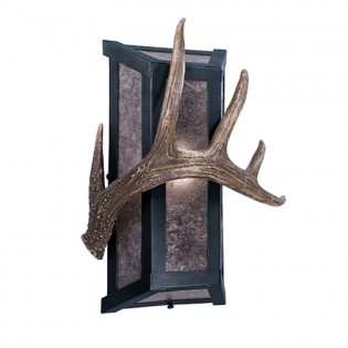 Lone Antler Single Sconce
