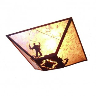 Fly Fishing Ceiling Fixture