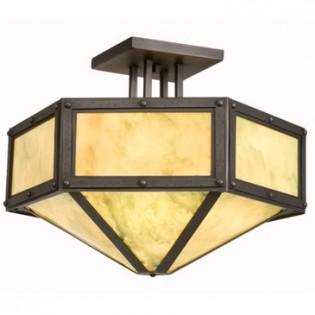 Rivets Hexagon Ceiling Light