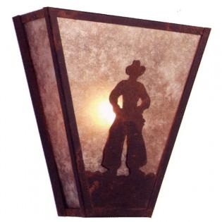 Rootin' Tootin' Cowboy Sconce