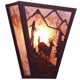 Running Deer Sconce