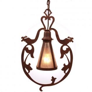 Bavarian Moose Pendant Light