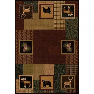 Corbin Square Area Rugs