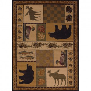 Pine Montage Area Rugs