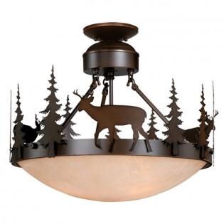 Bryce Deer Semi-Flush Ceiling Light