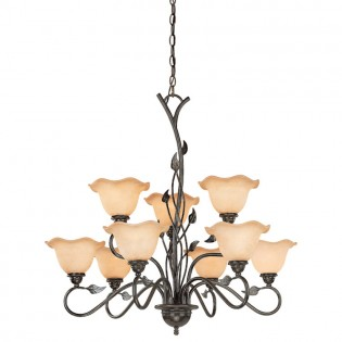 Vine 9 Light Chandelier