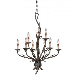 Monterey Branch 9 Light Candelier