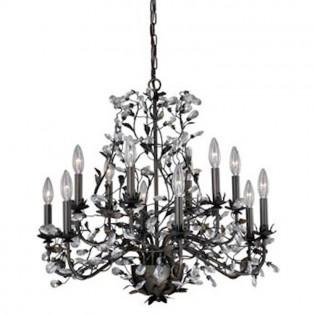 Crystal Trellis 12 Light Chandelier
