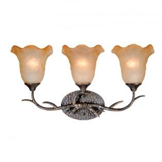 Monterey Umber Triple Vanity Light