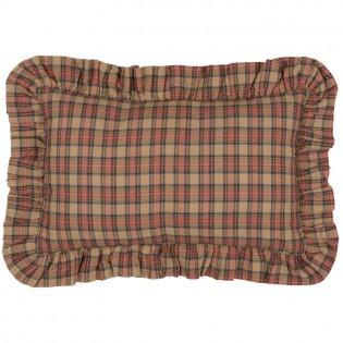 Crosswoods Plaid Oblong Pillow