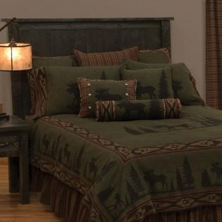 Pine Moose Bedding