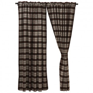 Ponderosa Plaid Drapes