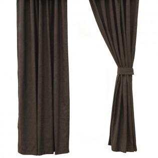 Graphite Rod Pocket Drapes