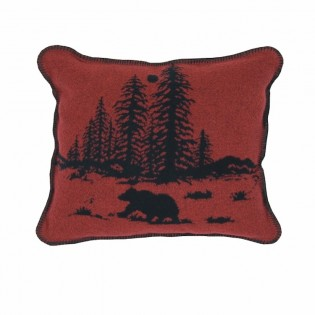 River Bear Accent Pillow